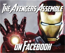 The Avengers on Facebook humor parody