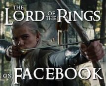 The Lord of the Rings on Facebook Portfolio Thumbnail