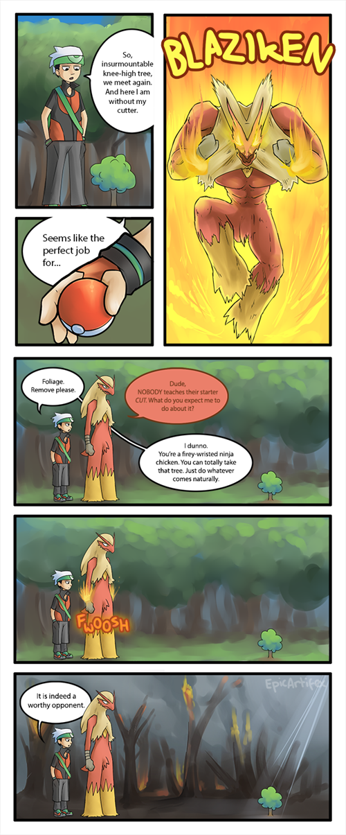 Pokemon Cut Comic
