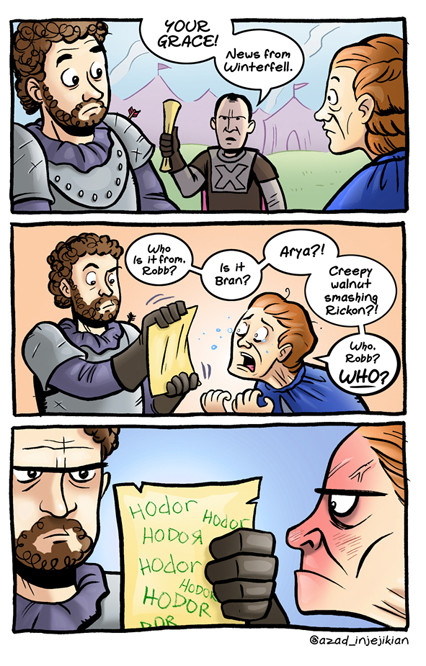 Hordor from Game of Thrones comic