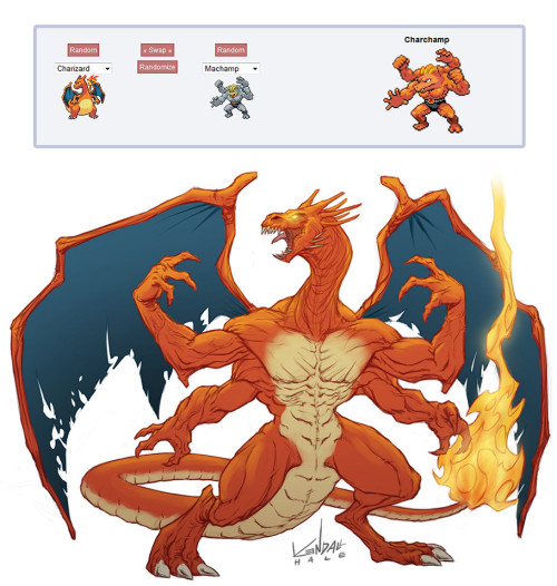 Mega Evolution Pokemon Fusion