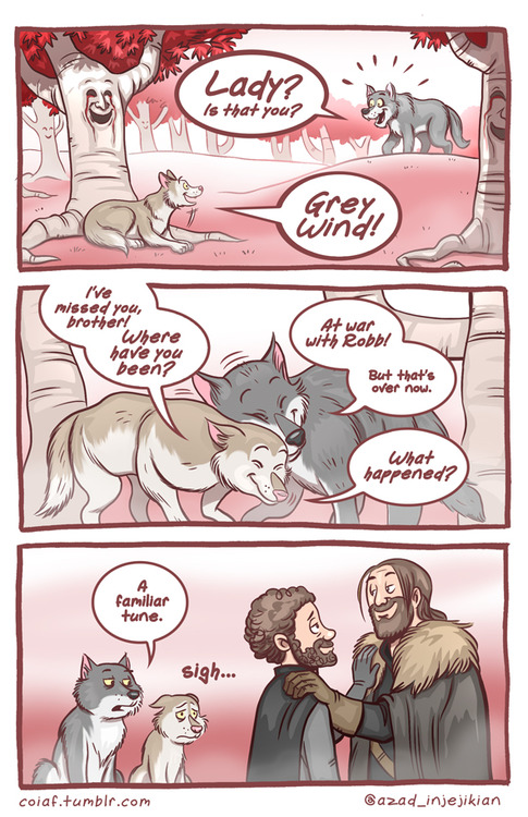 Game of Thrones Red Wedding Comic