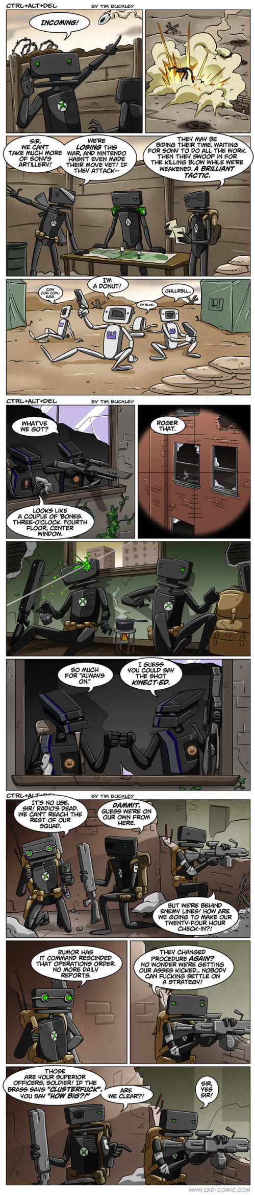 Console Wars 1-3