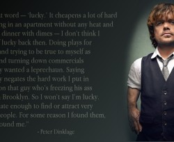 Peter Dinklage Lucky