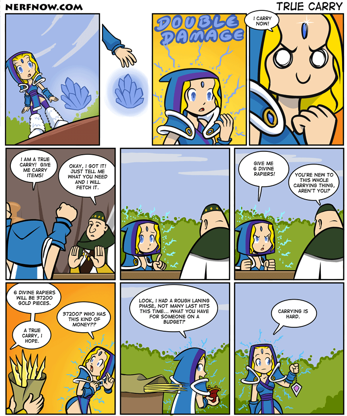 Crystal Maiden Becomes a Carry