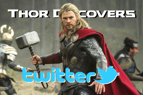 Thor Discovers Twitter Cover