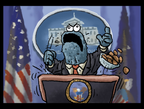 Cookie Monster for President
