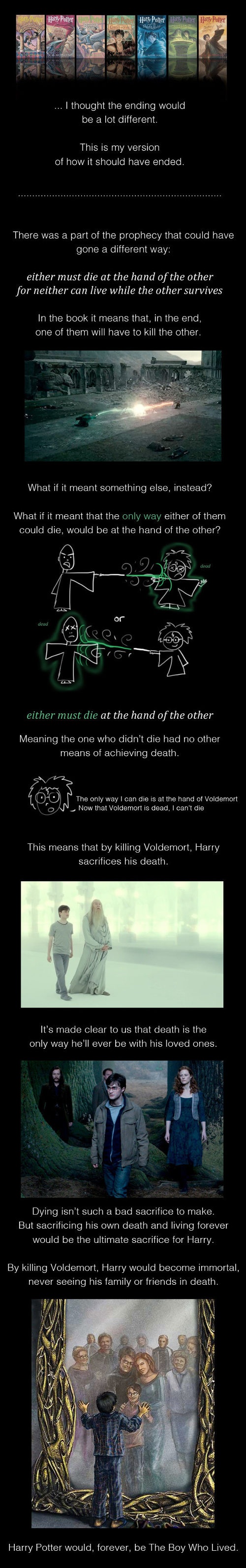 How Harry Potter Should Have Ended