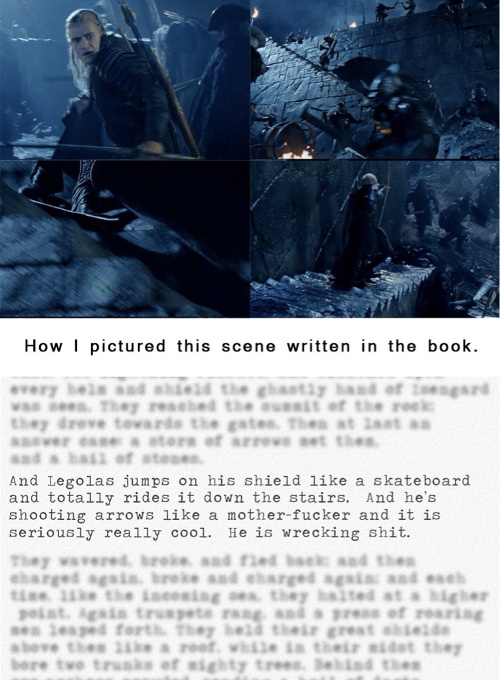 Legolas in the Book