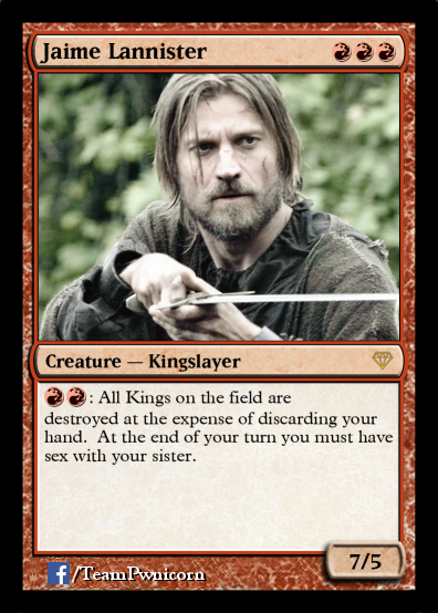 Jaime Magic Card