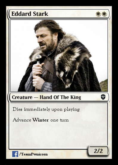 Ned Stark Magic