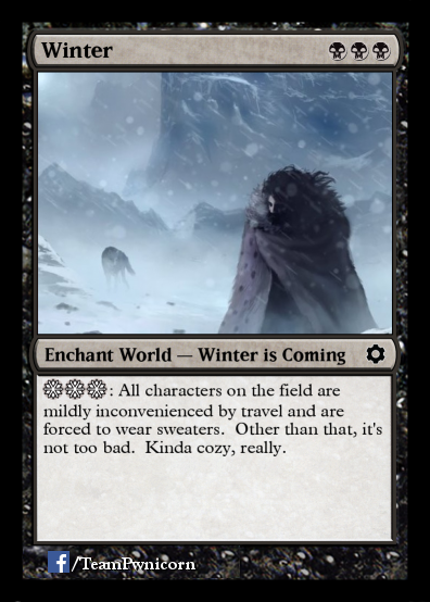 Winter magic card - Copy