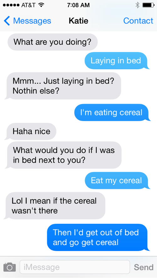 Cereal Text